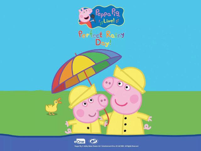 澳門百老匯小豬佩奇音樂劇 - 美好的下雨天