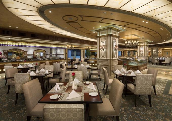 澳門勵庭海景酒店珀克餐廳自助晚餐