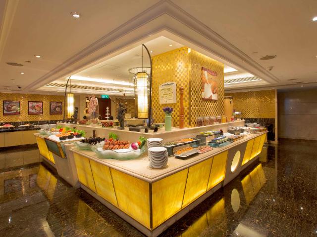 澳门英皇酒店御厨餐厅自助晚餐
