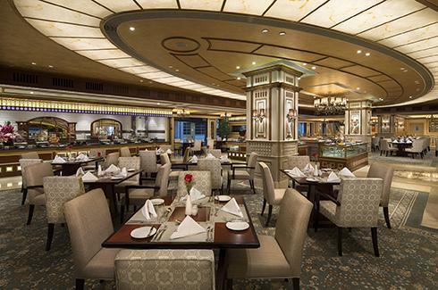 澳门励庭海景酒店珀克餐厅自助午餐
