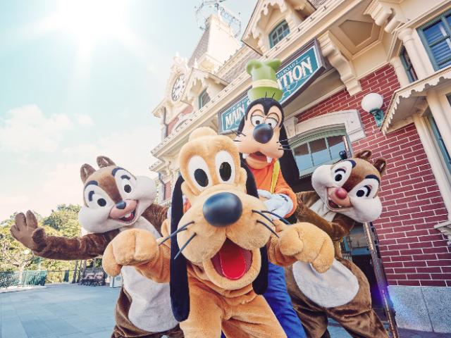香港迪士尼樂園兩日門票