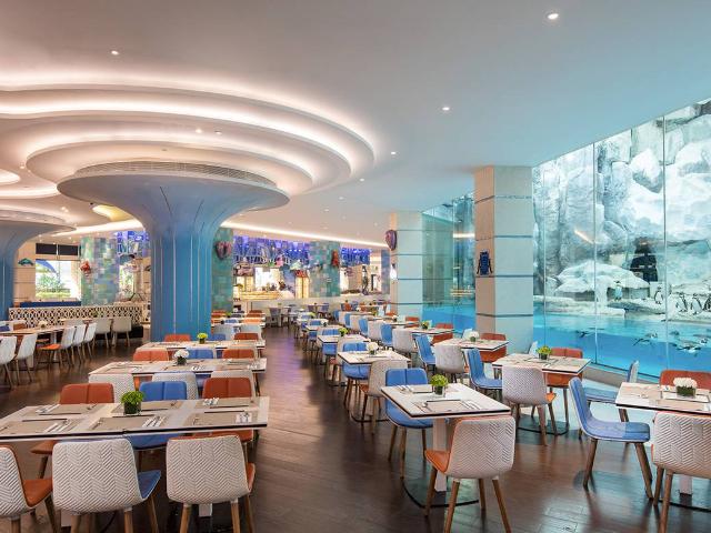 珠海长隆企鹅酒店帝企鹅餐厅自助午餐