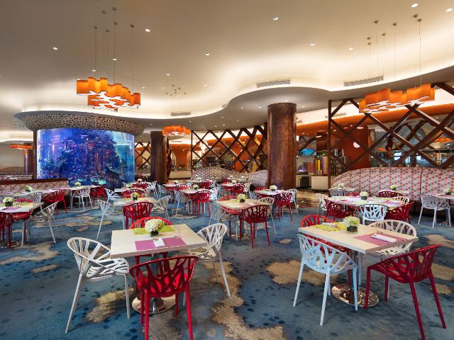珠海长隆横琴湾酒店海豚自助餐厅自助午餐