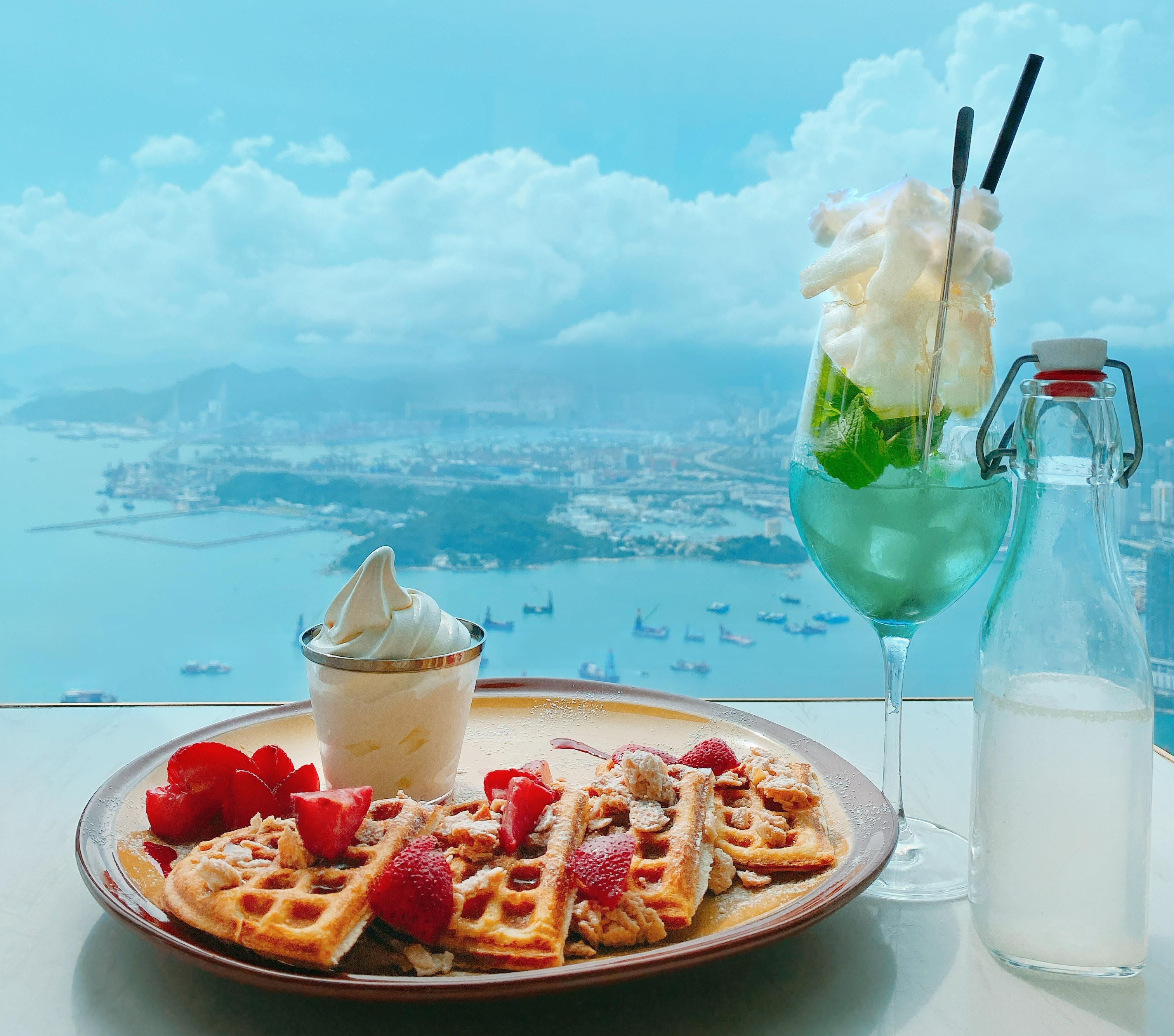 天际100香港观景台 CAFÉ 100美食+门票套票