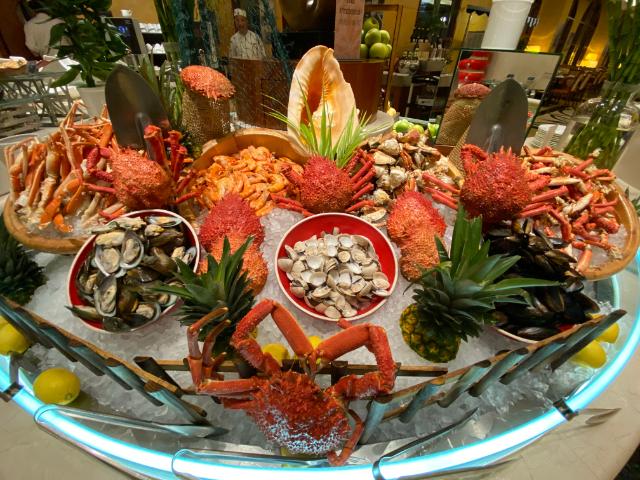 澳门十六浦海风餐厅自助晚餐