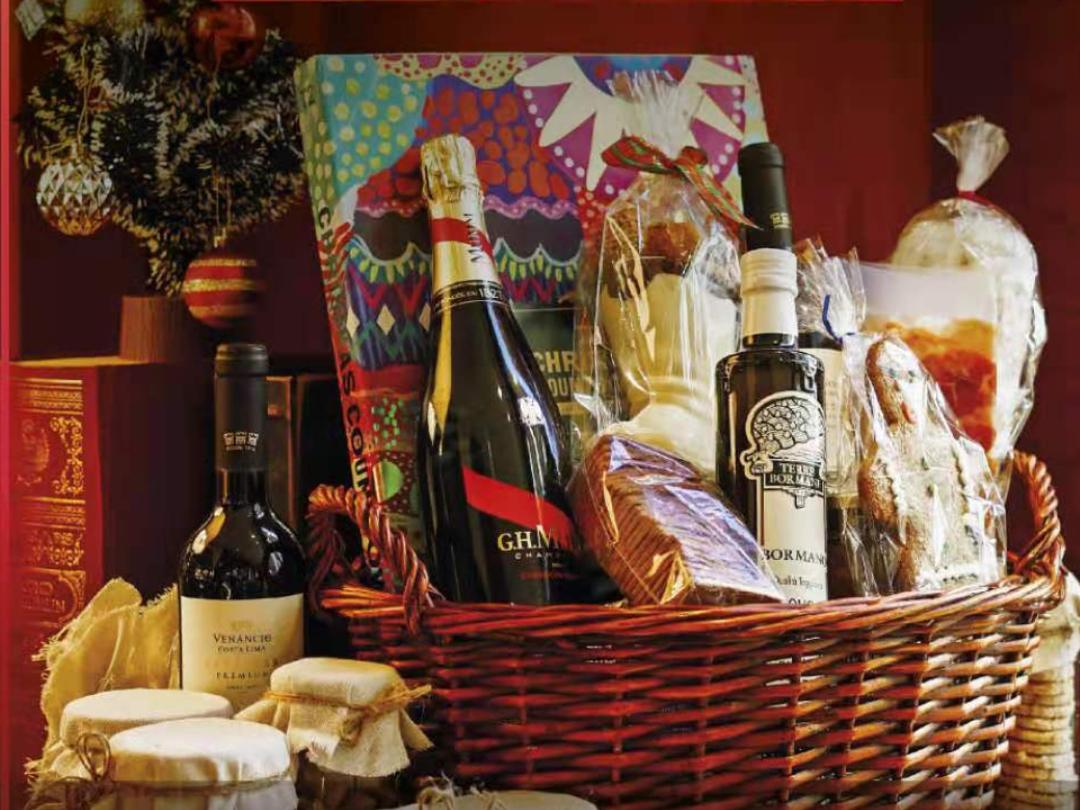 【十二月限定】澳門金麗華酒店圣誕節日禮品及食品