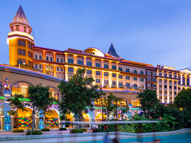 珠海長隆馬戲酒店自助午餐
