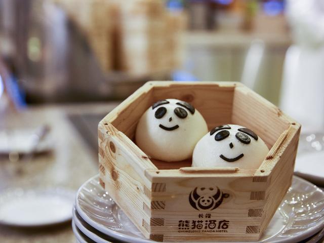 广州长隆熊猫酒店自助餐厅自助早餐
