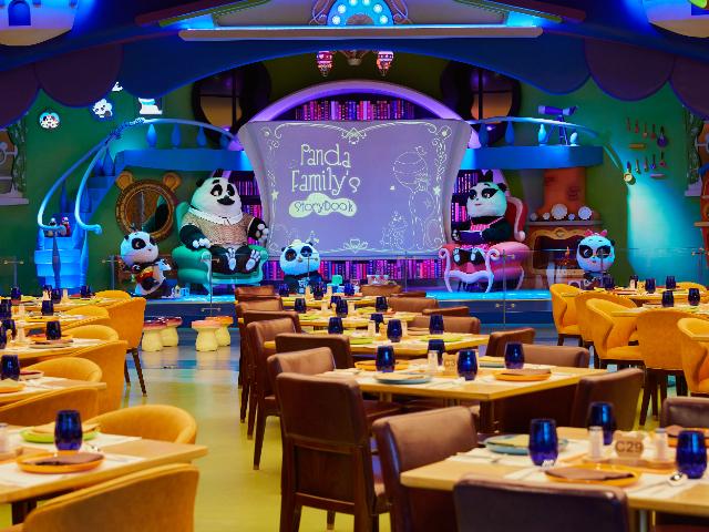 广州长隆熊猫酒店自助餐厅自助午餐