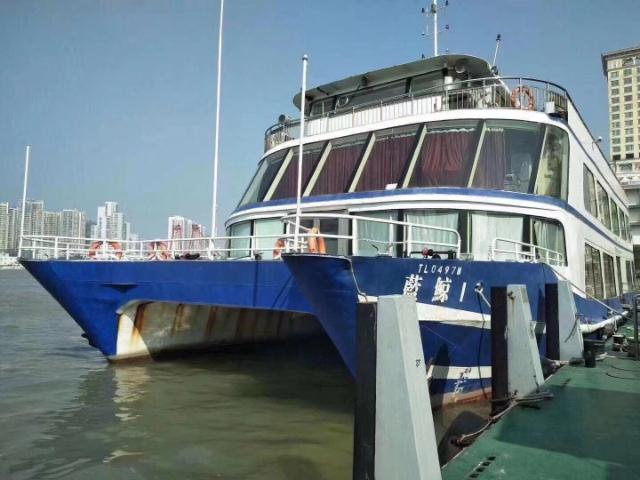 粵通海上游觀光船票+餐飲套票