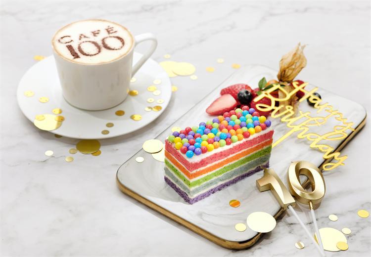 天际100香港观景台—彩虹之尝蛋糕套票