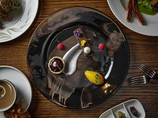 澳门励宫酒店巴黎餐厅新派纯素套餐