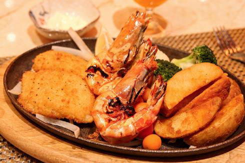 澳门假日西餐厅滋滋喳铁板烧套餐