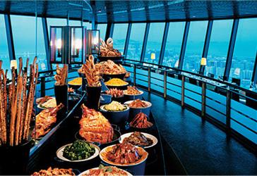 观光塔自助午餐