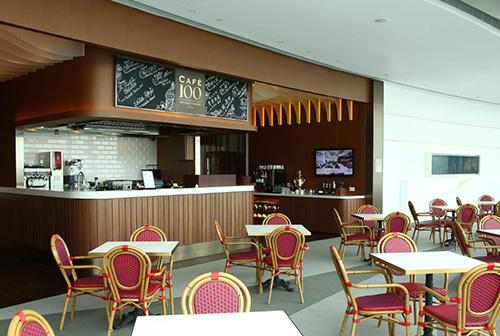 香港丽思卡尔顿100咖啡厅