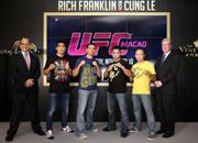 UFC澳门赛精彩图片